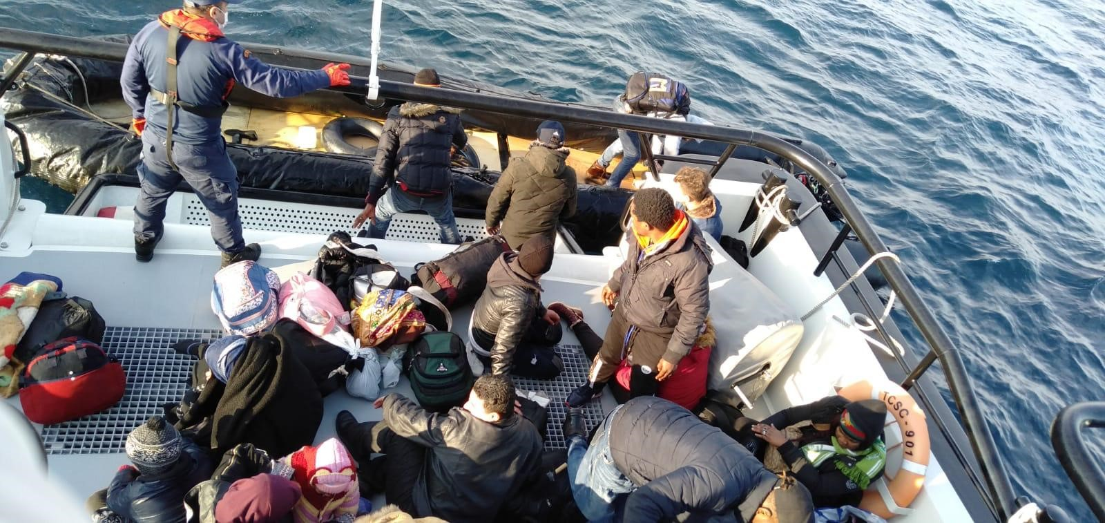 20 Irregular Migrants Were Rescued Off The Coast Of Aydın