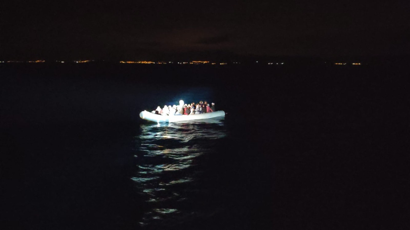 50 Irregular Migrants Were Rescued Off The Coast Of İzmir