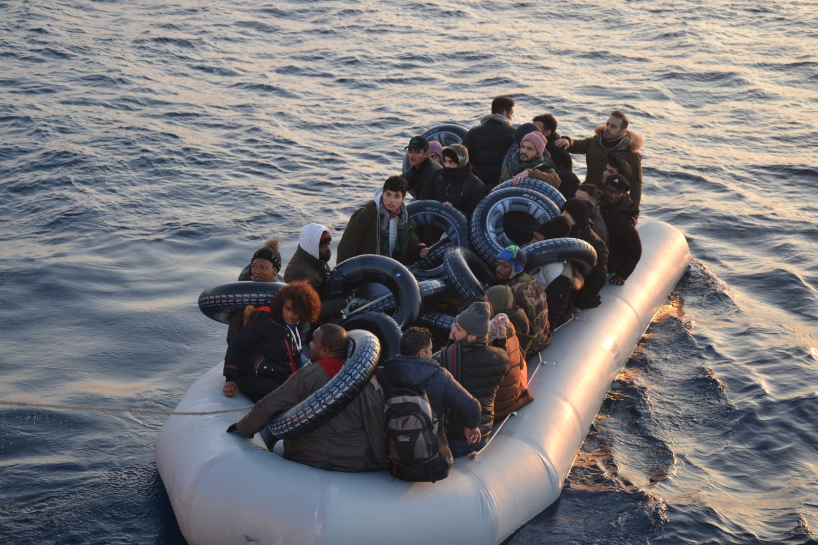 34 Irregular Migrants Were Rescued Off The Coast Of Muğla