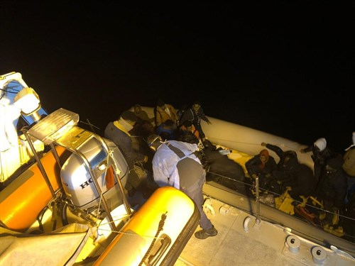 29 Irregular Migrants Were Rescued Off The Coast Of Izmir