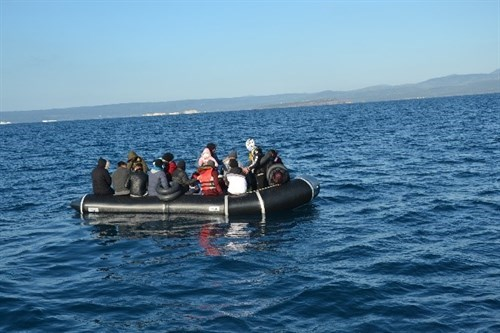 27 Irregular Migrants Were Rescued Off The Coast Of Balikesir
