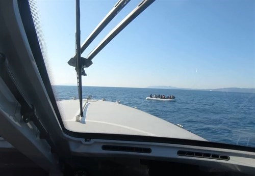 28 Irregular Migrants Were Rescued Off The Coast Of Balikesir