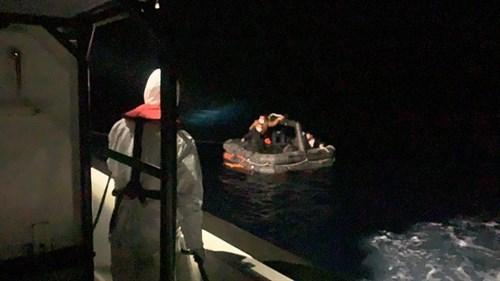 6 Irregular Migrants Were Rescued Off The Coast Of Muğla